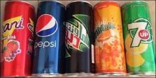 Mirinda, 7up, Pepsi 330ml/355ml