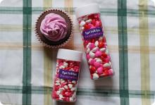 Valentine Candy Hearts Sprinkles / Edible Cake Decorations