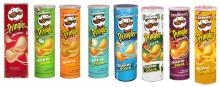Pringles Potato Chips from USA