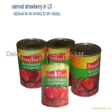 canned strawberry 425ml*24tins/ctn