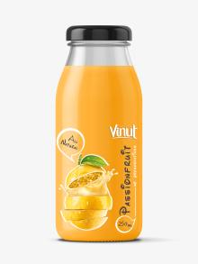 Fruit Juice drink with Passion juice 250ml Glass botle