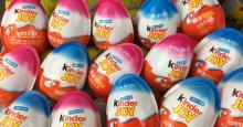 Kinder surprise, kinder bueno, kinder joy