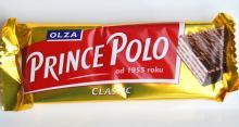 3 BIT 41g, Prince Polo Classic XXL 52g, Prince Polo Orzechowe 36g, Mleczne XXL 52g