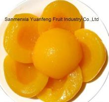 Factory price Canned yellow peach halves