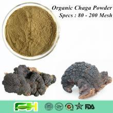 NOP & EOS Certified Organic Inonotus Obliquus Powder ,  Chaga  Mushroom ,  Chaga  Powder