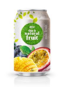 330ml Aluminum can Good Taste Mix Fruit Drink