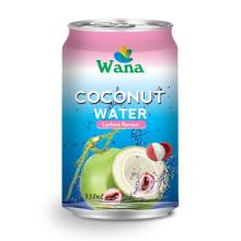 Natural Coconut Water with Lychee 330ml