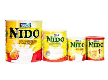 Nido/Nestle Milk Powder in Arabic Language available for sale