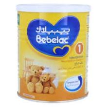 Bebelac Infant  Formula   1  & 2 ( 400g x 24 Cans ) Chocolate Chips
