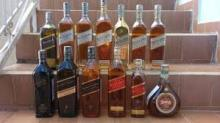 Johnnie Walker Black Label 1L,Johnnie Walker Gold Label Reserve 1L