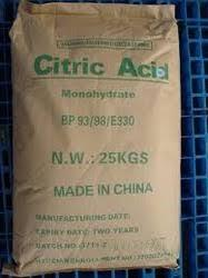 Citric acid Mono Food Grade