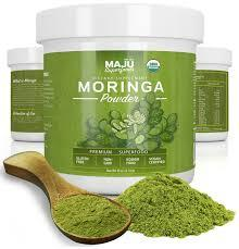 Moringa organic leaves powder