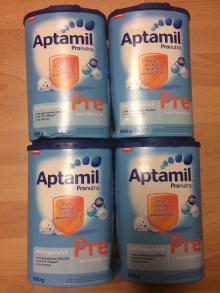 German Aptamil 1, 2, 3 Mit Pronutra, Baby Milk Formula,