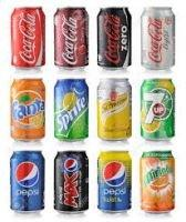Coca Cola ,Fanta,Sprite 330ml Cans, Drinks 24 X 330ml, Eenglish, Arab , German Text All Available