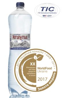 Carbonated Natural Mineral Water Krayna 1500 ml
