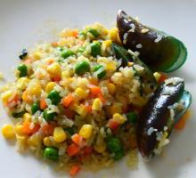 High KGM low calories precooked fresh konjac rice