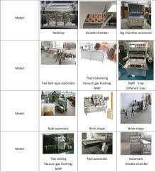 food  vacuum  packaging  machine  MAP tray sealer  vacuum  sealing thermoforming