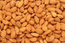 dried almond nuts