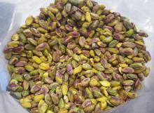 organic grade pistachio nuts..