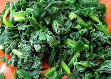 Quality Frozen spinach