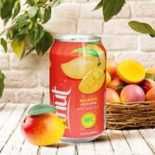 330ml Canned Real Mango Juice Drink
