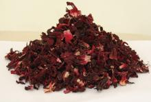 Dry hibiscus flower, roselle