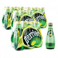 PERRIER MINERAL WATER NATURAL LEMON 200 ML