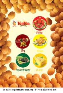 SPICE FLAVOR COATED PEANUTS