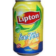 LIPTON ICE TEA 330ml Cans