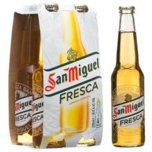San miguel Beer, 33cl. cans/ bottles in bulk