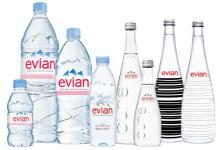 Evian 1L Mineral Still Water for sale