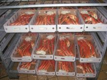 RED KING CRAB LEGS, LIVE RED KING CRAB, KING CRAB WITH CLUSTERS, KING CRAB MEAT