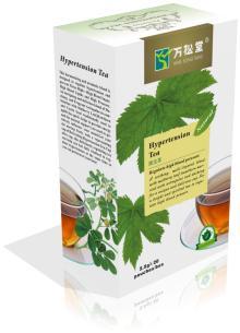 hypertension tea for soften blood level health herb tea teabag tea of medecine function