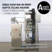 200 Litre Bulk Bag in Box Aseptic Filler 220 kg Bag in Drum Aseptic Filling Machine