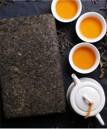 China Famous Tea Brand Anhua Aged Dark Tea