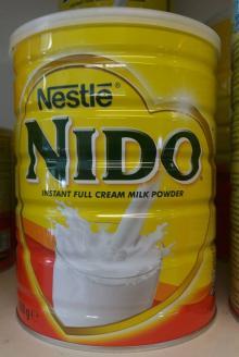Nestlé NIDO Fortigrow Full Cream  Milk   Powder   TIN  2.5kg
