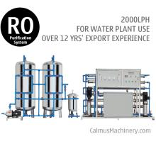 2TPH Commercial Reverse Osmosis RO Water Purifier Water Plant Filtration System