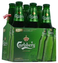 Carlsberg Beer 250ML, 330ML, 500ML bottle and can