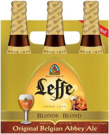 Leffe Blonde and Brune Beer 330ML bottle
