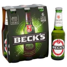 Becks beer available in Cans and Bottles
