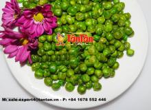 ROASTED GREEN PEAS TANGY MUSTARD FLAVOR