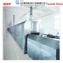 SAIHENG potato chips tunnel baking oven / fruit tunnel baking oven