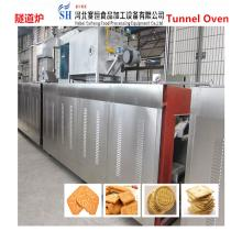 SAIHENG biscuit  tunnel  baking  oven  / cake baking  tunnel   oven  / bread baking  tunnel   oven