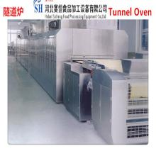 SAIHENG cookies baking tunnel oven / pizza baking tunnel oven / vegetables baking tunnel oven