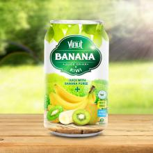 330ml Canned Banana Juice Puree with Kiwi