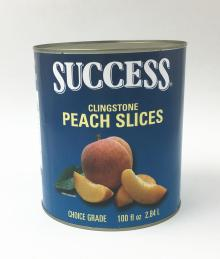 3kg Canned peach slice in light syrup