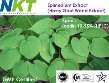 Epimedium Extract (Horny Goat Weed Extract, Icariin)