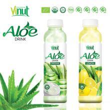 Famous brand VINUT original flavor aloe vera drink with fresh pulp