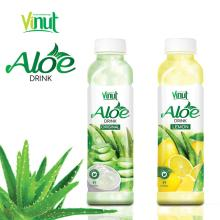 VINUT Plastic Bottle With HACCP Lemon Flavored aloe vera drink