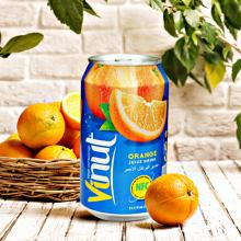 PRIVATE LABE 330ml VINUT healthy fruit drink fresh juice in canned